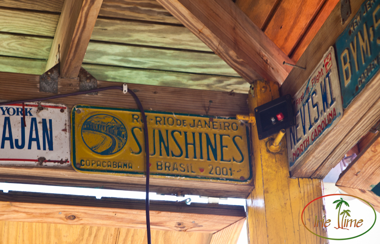 Best Beach Bar: Sunshine's, Nevis