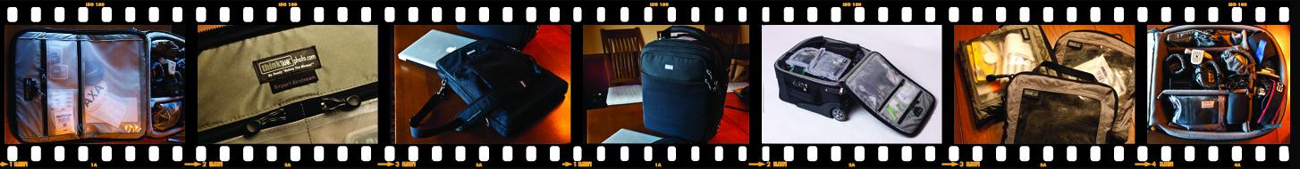 Camera Bag Filmstrip