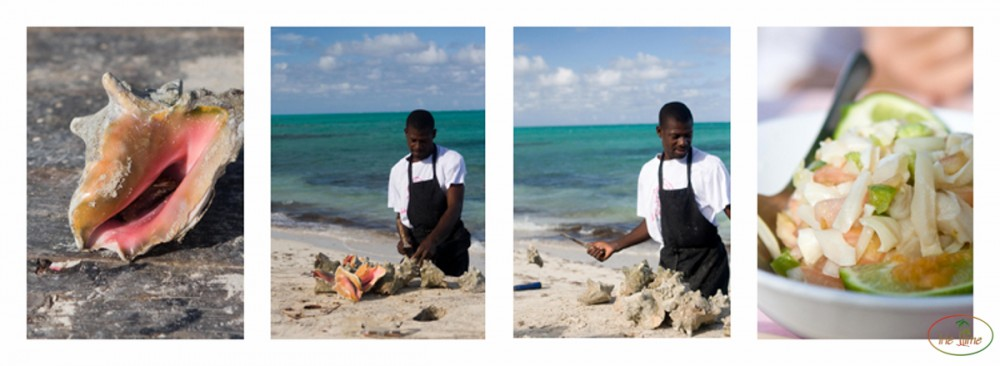 Making a Conch Salad