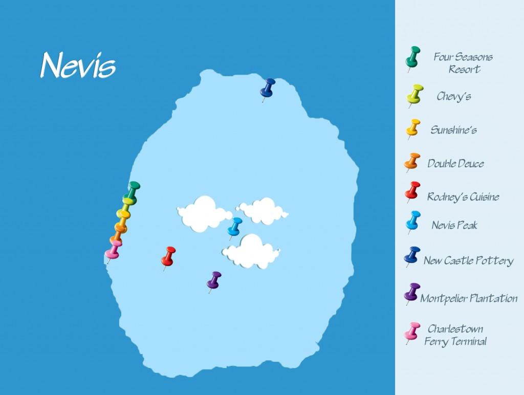 Nevis Map