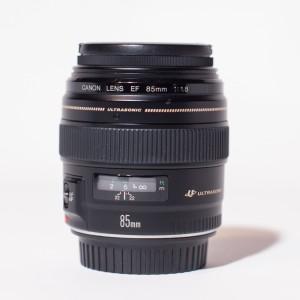 Canon 85mm f/1.8