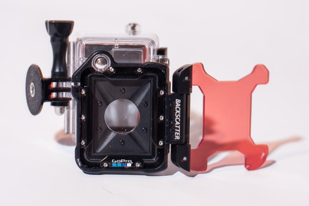 Backscatter Red Filter for GoPro Hero 2