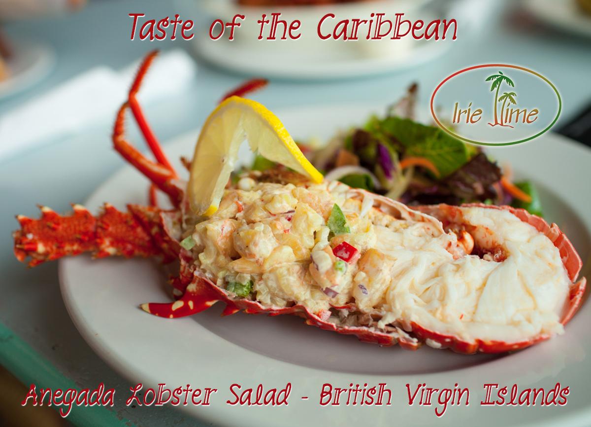 Anegada Lobster Salad BVI