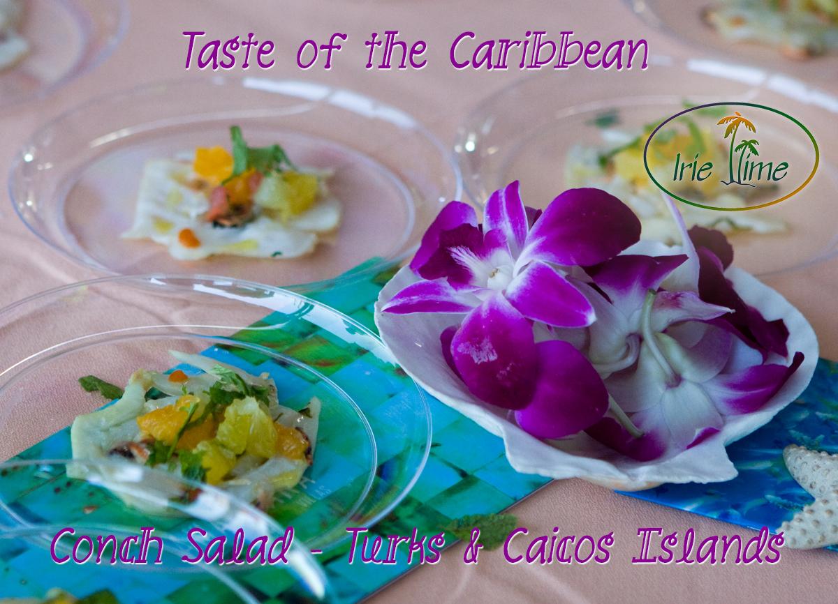 Conch Salad Amanyara Turks & Caicos Islands