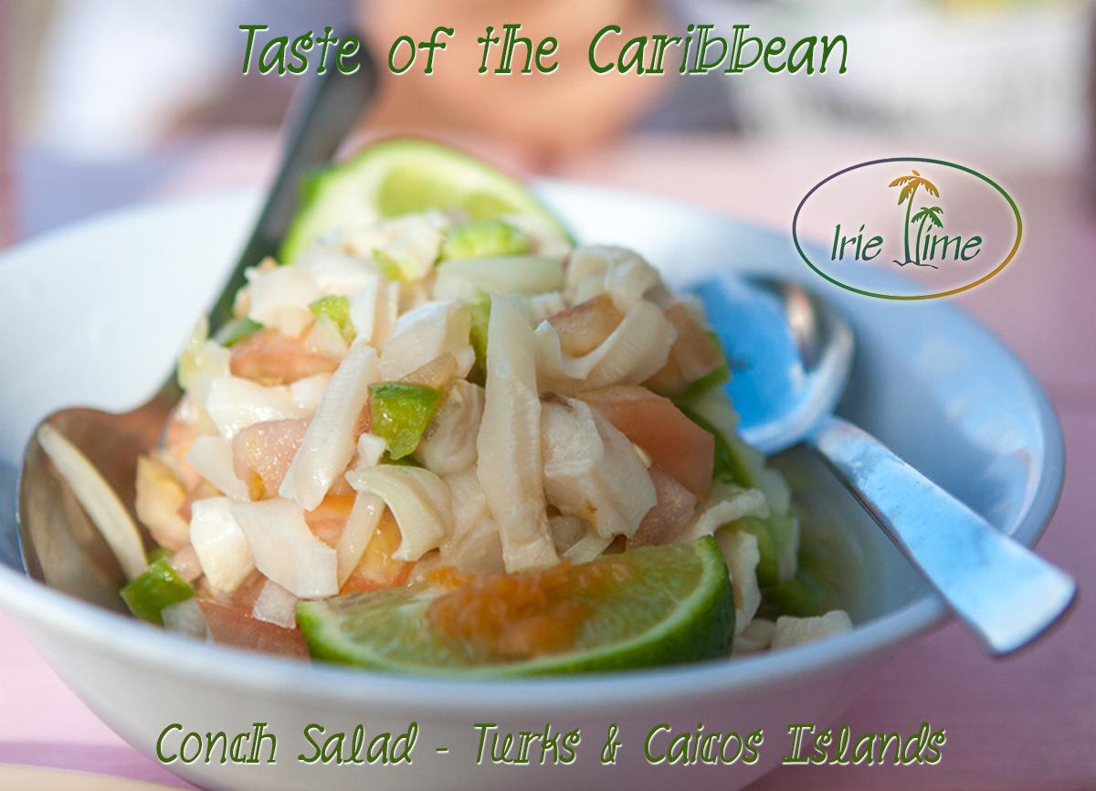 Conch Salad Turks & Caicos Islands