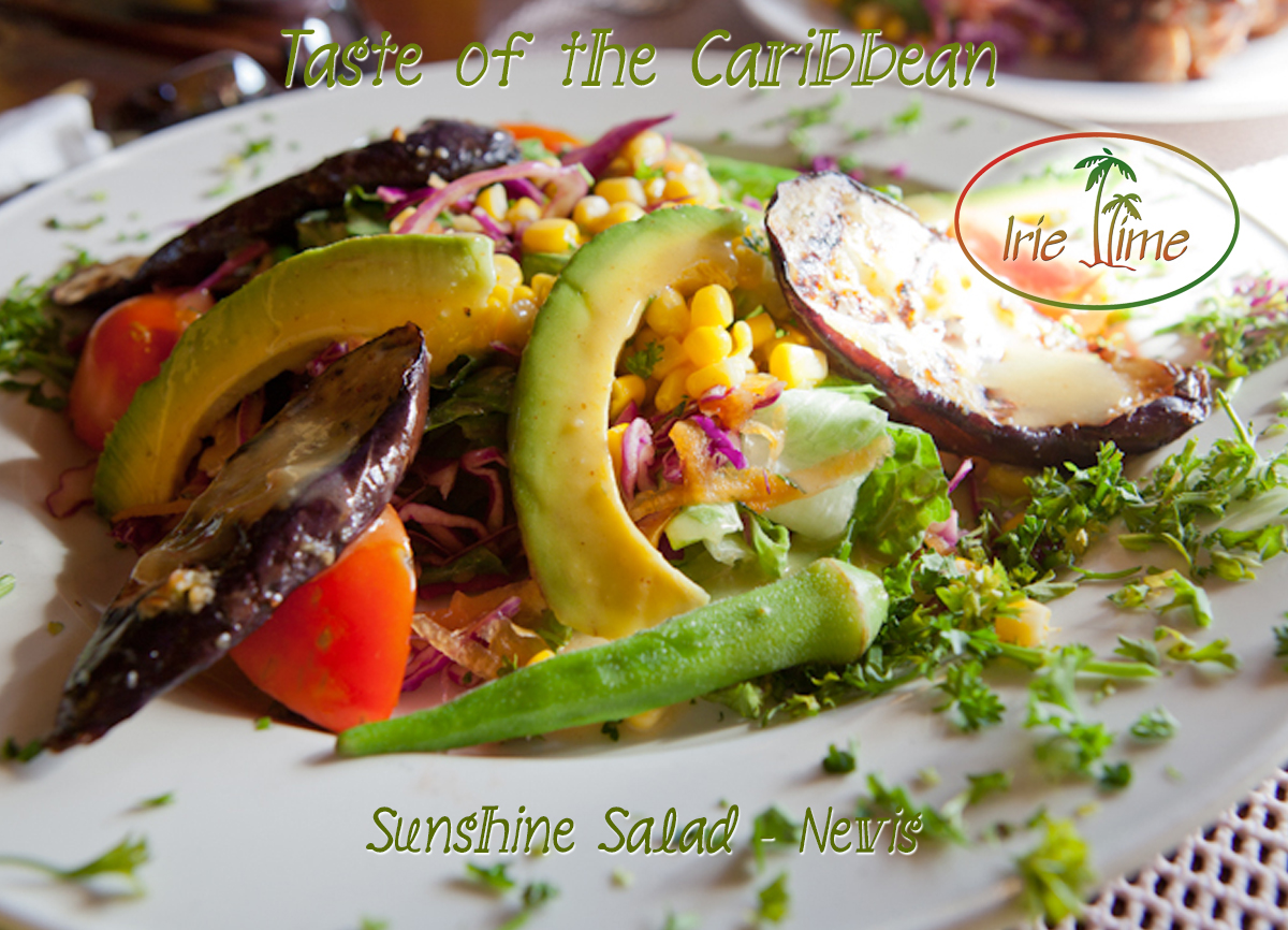Sunshine Salad Sunshine's Nevis