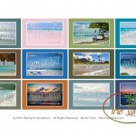 2015 Calendar: Postcards from the Beach