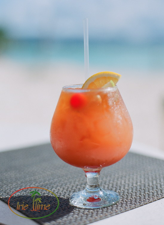 """The """"Special"""" Rum Punch, Smokey's at the Cove, Anguilla"""