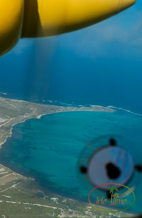 ANU to BBQ Barbuda from the air