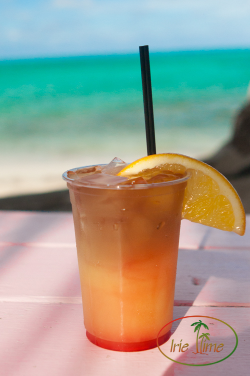 Jan's Infamous Rum Punch, Da Conch Shack, Providenciales, Turks & Caicos Islands