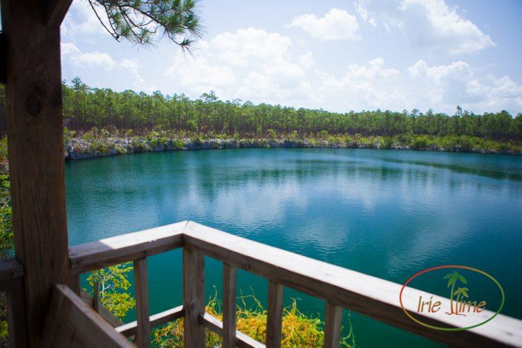Blue Holes Andros Bahamas