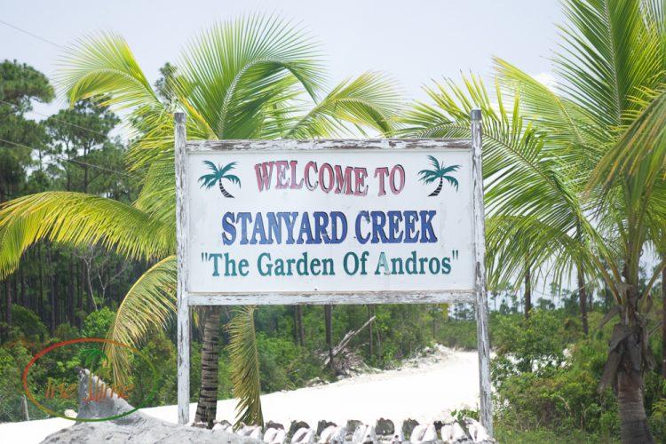 Stanyard Creek Andros Bahamas