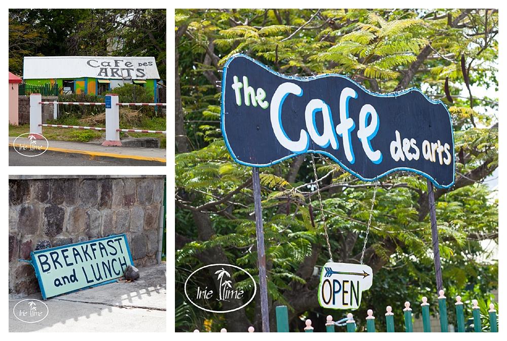 Cafe des Arts Nevis