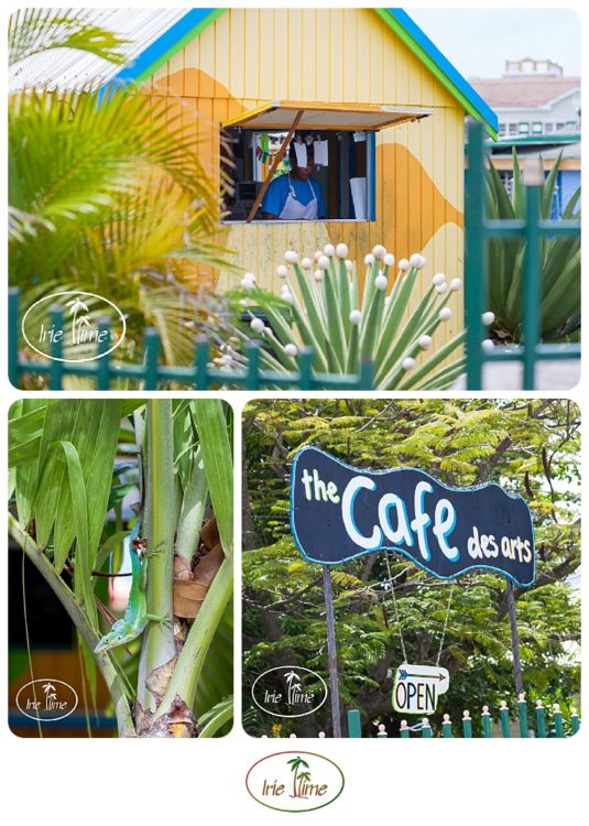 Breakfast all day at Cafe des Arts, Nevis #Nevis #Caribbean #travel