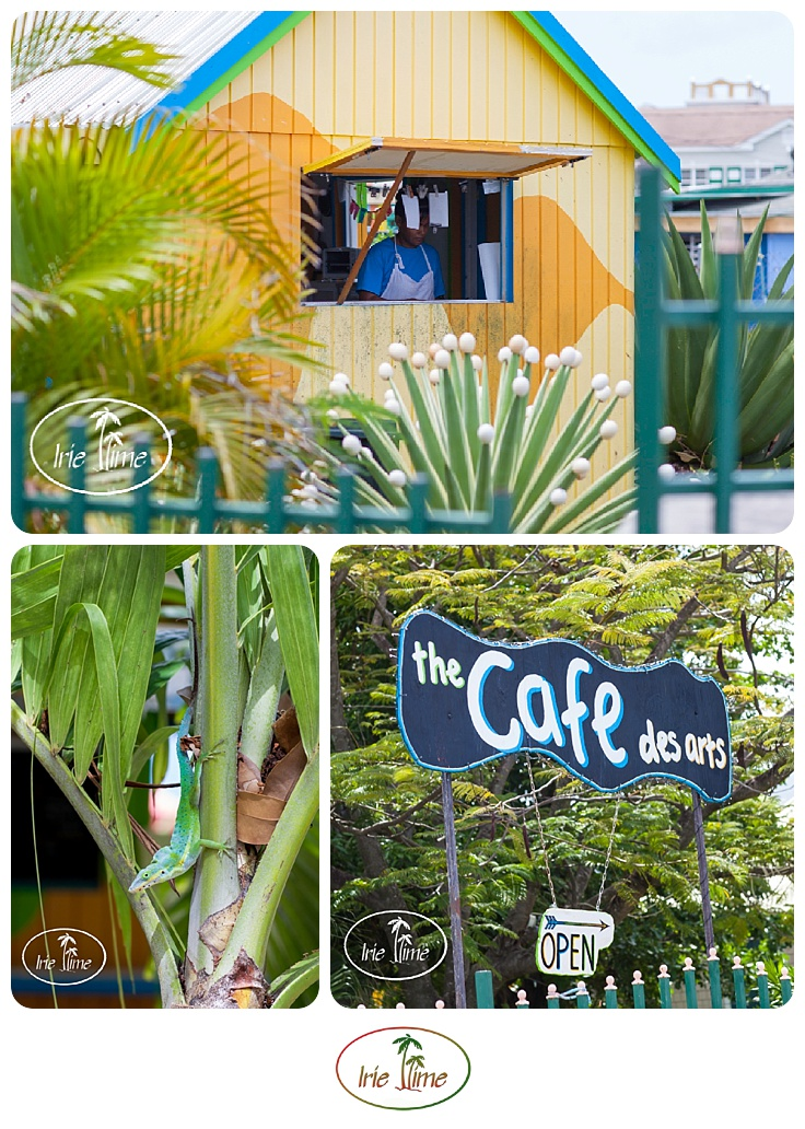 Breakfast all day at Cafe des Arts, Nevis