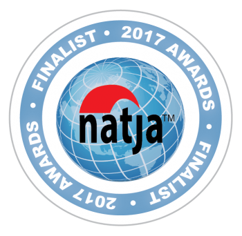 Recognized as a finalist in the North American Travel Journalists Association 2017 Awards!